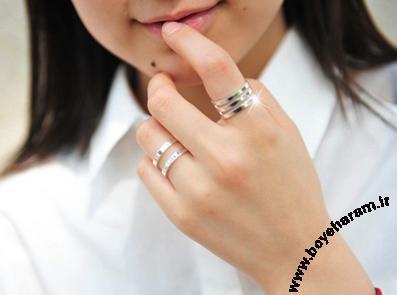 عکس انگشتر و حلقه