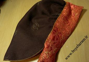آموزش دوخت روسری فانتزی,sewing Fantasy scarf