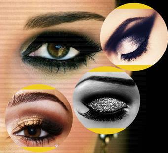آموزش آرایش چشم,میکاپ چشم,گریم چشم