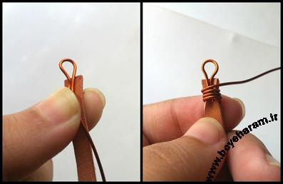 ساخت دستبند,دستبند سازی,ساخت دستبند چرم,Making leather bracelets