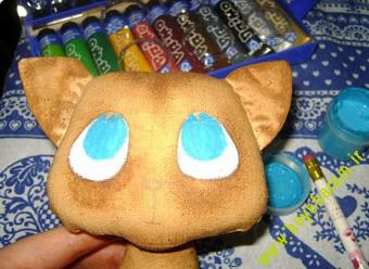 ساخت عروسک گربه11