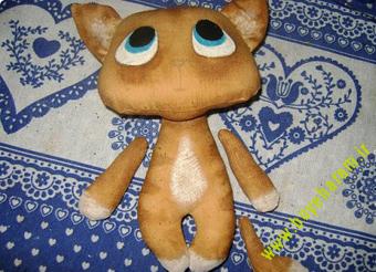 ساخت عروسک گربه