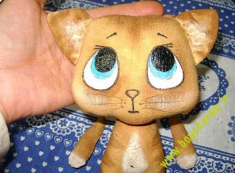 عروسک پیشی,آموزش عروسک سازی