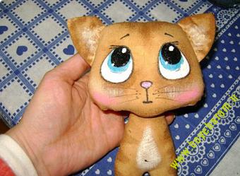 ساخت عروسک پیشی