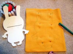 طراحی عروسک,آموزش طراحی عروسک,ساخت عروسک
