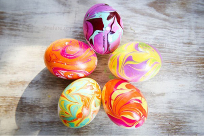 تخم مرغ رنگی برای نوروز