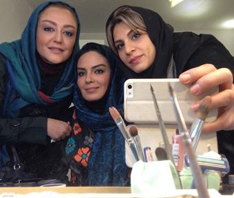 عکس دوستان صمیمی شقایق فراهانی