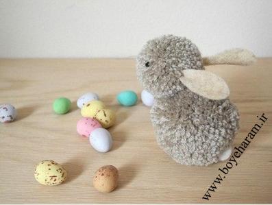 عروسک خرگوش,ساخت عروسک,عروسک سازی