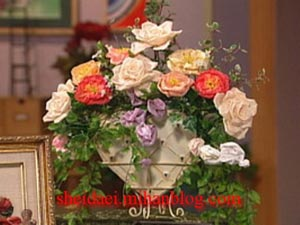 روبان دوزی,گل سازی,آموزش روبان دوزی,آموزش گلسازی,دسته گل روبان دوزی,دسته گل روبانی,روبان,گل روبانی,گل سازی,آموزش دسته گل روبان دوزی,
