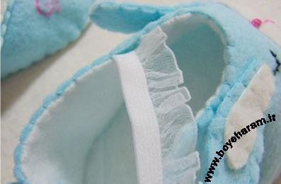 دوخت بند برای کفش بچه گانه