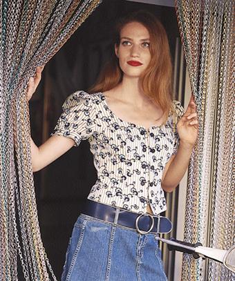 دوخت پیراهن زنانه استین پفکی,Sewing puff sleeve shirt