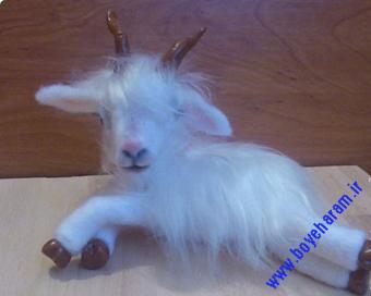 عروسک بز پشمالو,ساخت عروسک بز,ساخت عروسک,Shaggy goat doll making