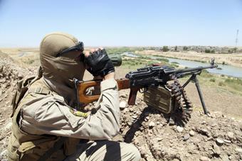 داعش,تک تیرانداز داعشی,گول خوردن تک تیرانداز داعشی