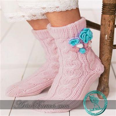 آمورش بافت جوراب کاموایی,بافت جوراب 5میل,بافت جوراب کاموایی,افتنی جوراب,جوراب بافتنی,مدل جوراب بافتنی,ژورنال جوراب بافتنی