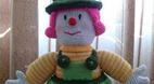 آموزش بافت عروسک بچه گانه قلاب بافی