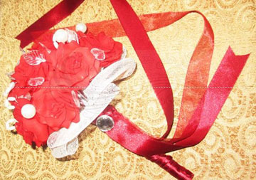 آموزش ساخت گل کریستالی