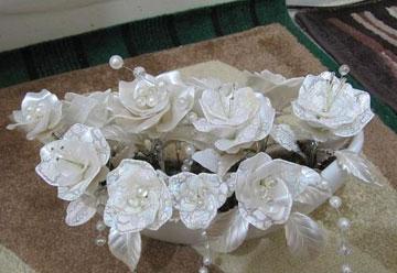 ساخت گل رز کریستالی
