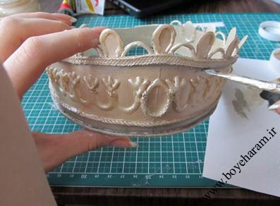 مدل تاج عروس دست ساز