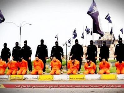 اخبار,داعش,اخبار داعش,جنایت های داعش,اعدام سی نفر توسط داعش,اعدام30 نفر به دست داعش