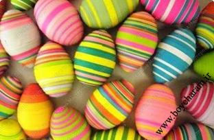 تخم مرغ تزئینی عید