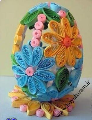 ساخت جا تخم مرغی زیبا