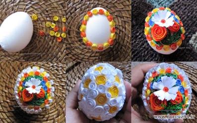 تزئین تخم مرغ,مدل های تخم مرغ,مدل های تزئینی تخم مرغ