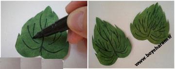 ساخت گلبرگ کاغذی