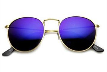 عینک آبی رنگ