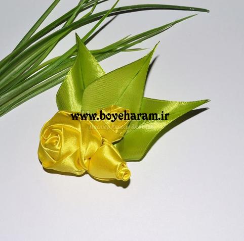 روبان دوزي,گل زوبان دوزي,آموزش روبان دوزي,آموزش گل روبان دوزي,دوخت روبان,ساخت گل,آموزش ساخت گل,ساخت گل با روبان,آموزش ساخت گل با روبان رنگي,آموزش تصويري گل سازي با روبان,گل سازي با روبان رنگي