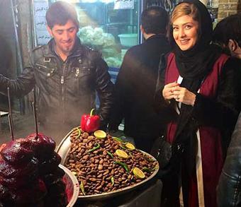 تصاویر مریم معصومی در بازار