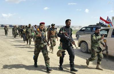 داعش,اخبار داعش,نیروهای عراقی,پیشروی نیروهای عراقی,اخبار عراق