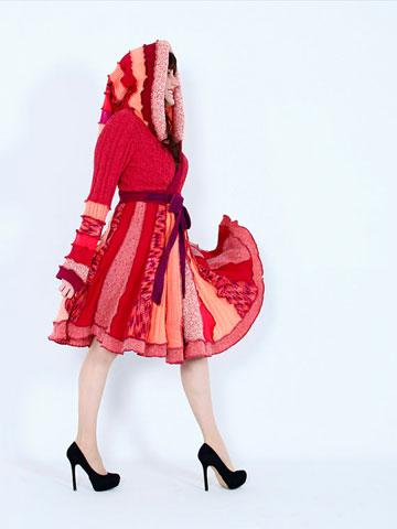 لباس مجلسی بافتنی,لباس مجلسی,مدل لباس مجلسی