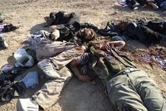 هلاکت ده داعشی,کشته شدن ده داعشی,هلاکت 10 داعشی