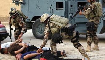 حمله سربازان آمریکا به داعش,دستگیری تروریست های داعش