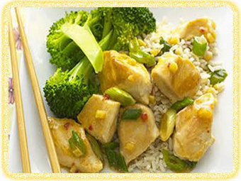 خوراک مرغ با برنج,پخت مرغ با برنج,Cooking chicken with rice