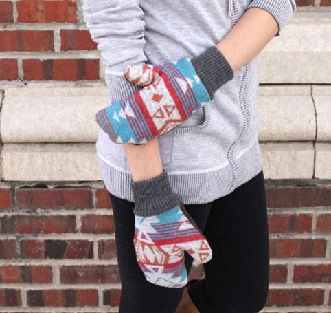 روش دوخت دستکش زمستانی زنانه,چگونه دستکش بدوزیم,چگونه دستکش درست کنیم؟