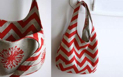 دوخت کیف زنانه پارچه ای,آموزش دوخت کیف زنانه دو طرفه