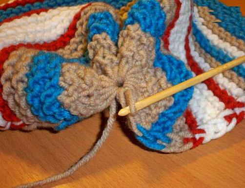 آموزش بافت انواع کلاه زمستانی,آموزش گام به گام بافتنی
