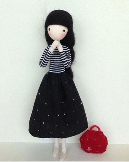 ساخت کاردستی با سیم مسی,آموزش عروسک دختر بچه,ساخت عروسک دخترانه