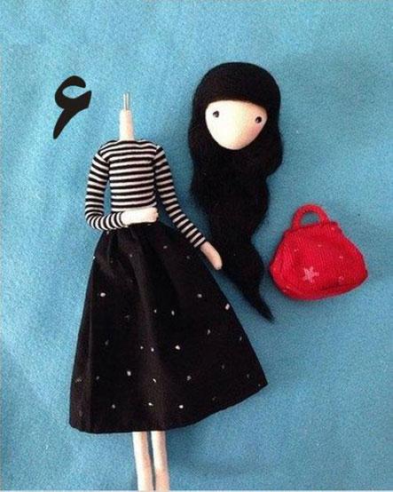 آموزش عروسک سازی,ساخت عروسک,سایت عروسک سازی