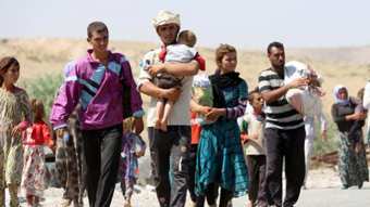 ایزدی های آواره,آواره شدن ایزدی های عراق