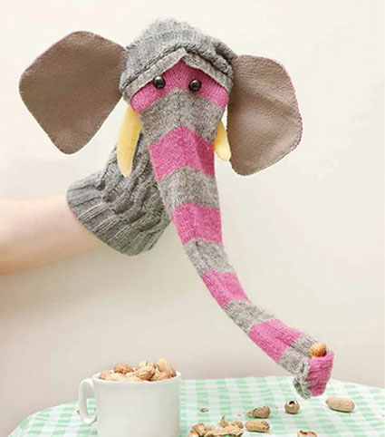 آموزش ساخت عروسک های جورابی,روش ساخت عروسک های جورابی