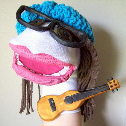 آموزش ساخت عروسک با جوراب,عروسک های جورابی