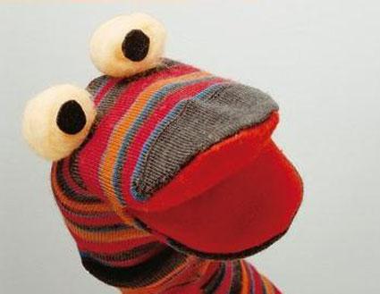 مدل های عروسک سازی,ساخت عروسک با جوراب