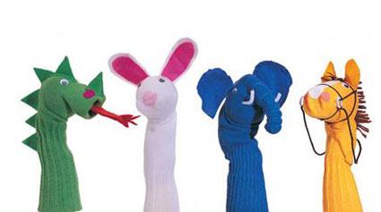 آموزش درست کردن عروسک های جورابی