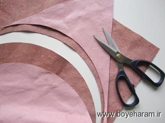 ساخت کیف چرمی,آموزش ساخت کاردستی با کیف چرم