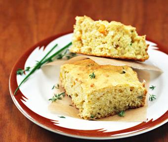 نان ذرت با سبزی,پخت نان ذرت با سبزی,Corn bread with herbs