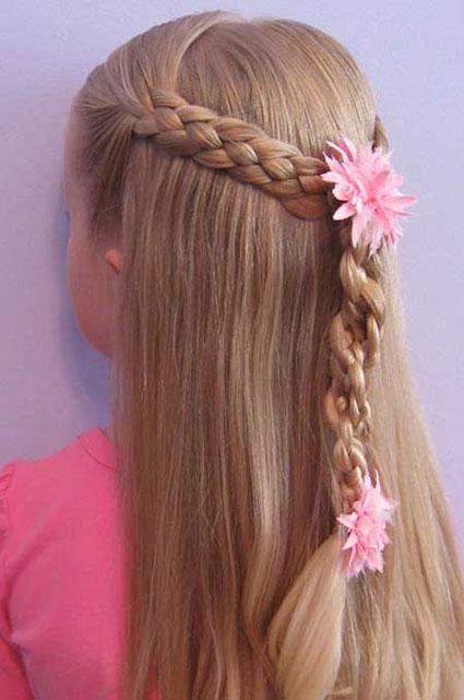 مدل موی دختران خردسال,مدل موهای ساده و زیبا