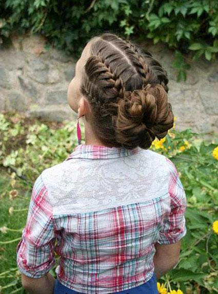 موهای بلند,مدل موهای ساده و زیبا مخصوص دختران
