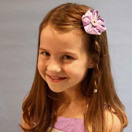بافت موی دختر بچه,آموزش بافت موی دختر بچه,مدل موی زیبا و ساده